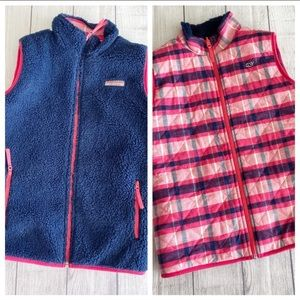 Vineyard vines reversible vest